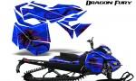 Skidoo RevXM Graphics Kit Dragon Fury Pink Blue 150x90 - Ski-Doo Can-Am Rev XM 2013-2017 Graphics
