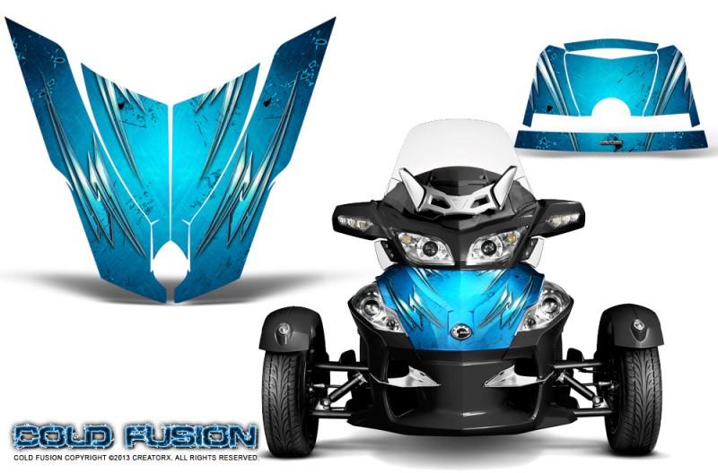 Spyder-RT-Hood-CreatorX-Graphics-Kit-Cold-Fusion-BlueIce