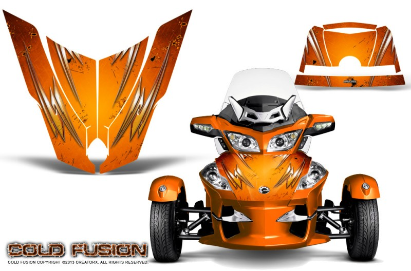 Spyder-RT-Hood-CreatorX-Graphics-Kit-Cold-Fusion-Orange