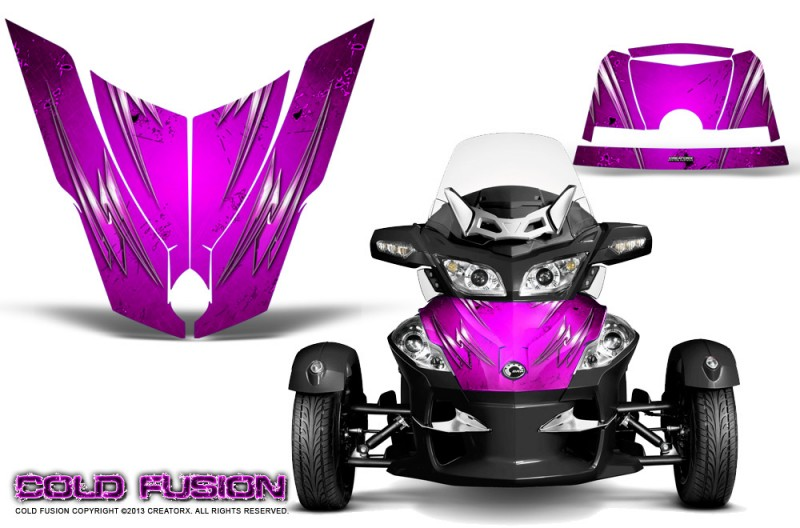 Spyder-RT-Hood-CreatorX-Graphics-Kit-Cold-Fusion-Pink
