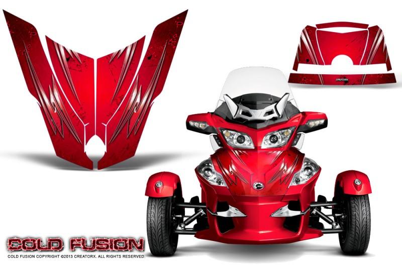 Spyder-RT-Hood-CreatorX-Graphics-Kit-Cold-Fusion-Red