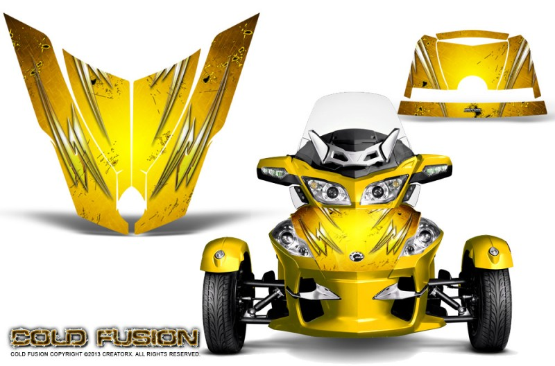 Spyder-RT-Hood-CreatorX-Graphics-Kit-Cold-Fusion-Yellow