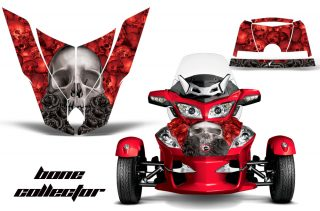 SpyderRT Hood GraphicsKit BC R 320x211 - Can-Am Spyder RTS Hood and Rear Fender Graphics