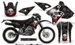 Suzuki DRZ 400 Enduro NP AMR Graphic Kit Bones B NPs 150x90 - Suzuki Dirt Bike Graphics