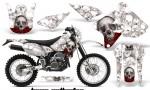 Suzuki DRZ 400 Enduro NP AMR Graphic Kit Bones W NPs 150x90 - Suzuki Dirt Bike Graphics