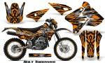 Suzuki DRZ400 Enduro CreatorX Graphics Kit Bolt Thrower Orange NP Rims 150x90 - Suzuki Dirt Bike Graphics