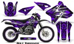 Suzuki DRZ400 Enduro CreatorX Graphics Kit Bolt Thrower Purple NP Rims 150x90 - Suzuki Dirt Bike Graphics