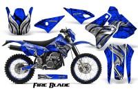 Suzuki-DRZ400-Enduro-CreatorX-Graphics-Kit-FireBlade-Black-Blue-NP-Rims