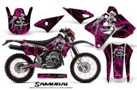 Suzuki-DRZ400-Enduro-CreatorX-Graphics-Kit-Samurai-Pink-Black-NP-Rims