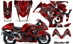 Suzuki GSX 1300 Hayabusa CreatorX Graphics Kit SpiderX Red 150x90 - Suzuki GSXR 1300 Hayabusa 2008-2013 Graphics