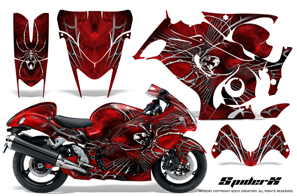 Suzuki Hayabusa Custom Decals