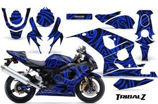 Suzuki-GSXR-600-750-04-05-CreatorX-Graphics-Kit-TribalZ-Blue