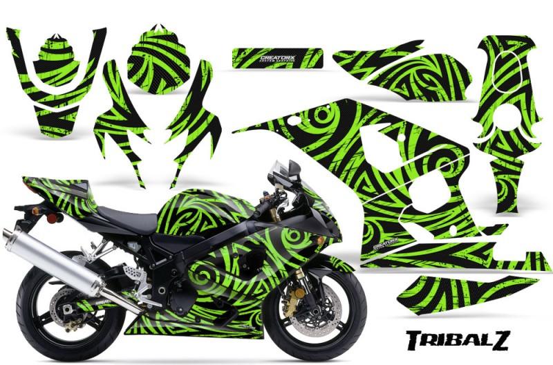 Suzuki-GSXR-600-750-04-05-CreatorX-Graphics-Kit-TribalZ-Green