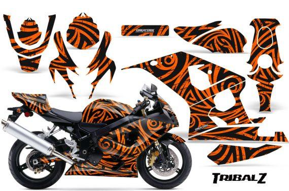 Suzuki GSXR 600 750 04 05 CreatorX Graphics Kit TribalZ Orange 570x376 - Suzuki GSXR 600/750 2004-2005 Graphics