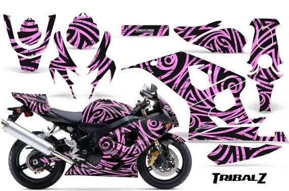 Suzuki GSXR 600 750 04 05 CreatorX Graphics Kit TribalZ PinkLite 570x376 - Suzuki GSXR 600/750 2004-2005 Graphics