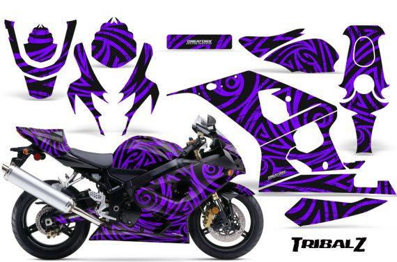 Suzuki GSXR 600 750 04 05 CreatorX Graphics Kit TribalZ Purple 570x376 - Suzuki GSXR 600/750 2004-2005 Graphics