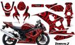 Suzuki GSXR 600 750 04 05 CreatorX Graphics Kit TribalZ Red BB 150x90 - Suzuki GSXR 600/750 2004-2005 Graphics