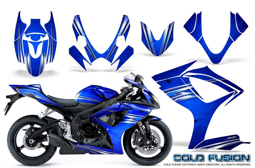 Suzuki GSXR 600/750 Graphics 2006-2007