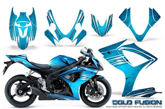 Suzuki GSXR 600 750 06 07 CreatorX Graphics Kit Cold Fusion BlueIce 570x376 - Suzuki GSXR 600/750 2006-2007 Graphics