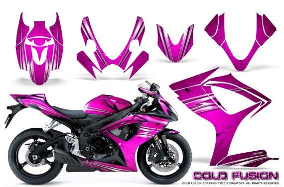 Suzuki GSXR 600 750 06 07 CreatorX Graphics Kit Cold Fusion Pink 570x376 - Suzuki GSXR 600/750 2006-2007 Graphics