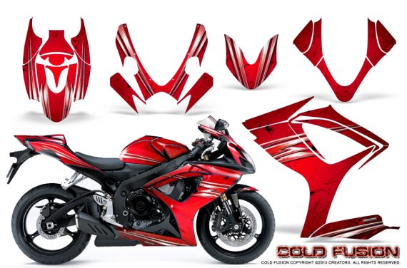 Suzuki GSXR 600 750 06 07 CreatorX Graphics Kit Cold Fusion Red 570x376 - Suzuki GSXR 600/750 2006-2007 Graphics