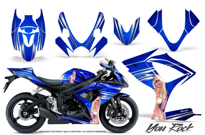 Suzuki-GSXR-600-750-06-07-CreatorX-Graphics-Kit-You-Rock-Blue