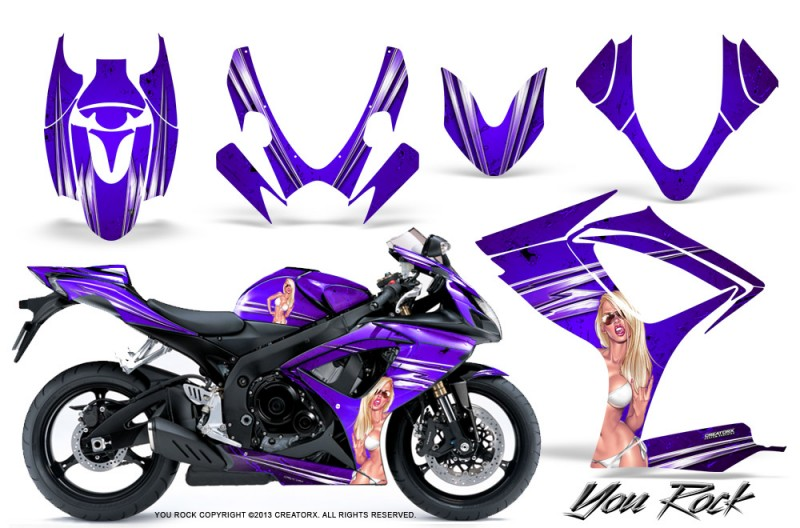 Suzuki-GSXR-600-750-06-07-CreatorX-Graphics-Kit-You-Rock-Purple
