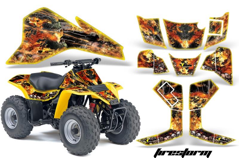 Suzuki-LT80-AMR-Graphics-Firestorm-Yellow