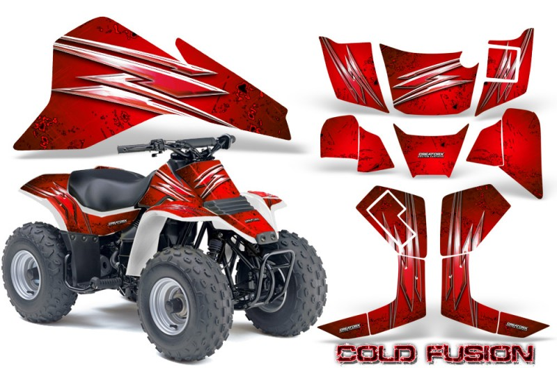 Suzuki-LT80-CreatorX-Graphics-Kit-Cold-Fusion-Red
