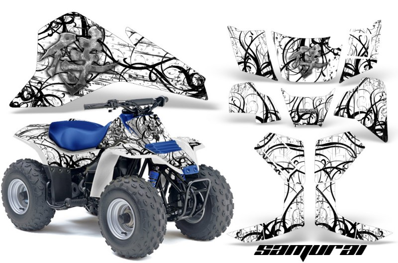 Suzuki-LT80-CreatorX-Graphics-Kit-Samurai-Black-White