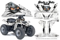 Suzuki-LT80-CreatorX-Graphics-Kit-Skulls-N-Bolts-Solid-Black-White