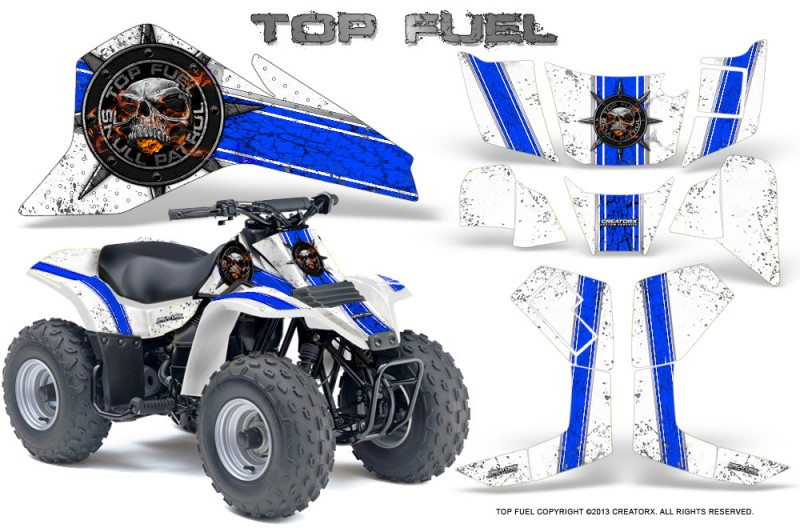Suzuki-LT80-CreatorX-Graphics-Kit-Top-Fuel-Blue-White
