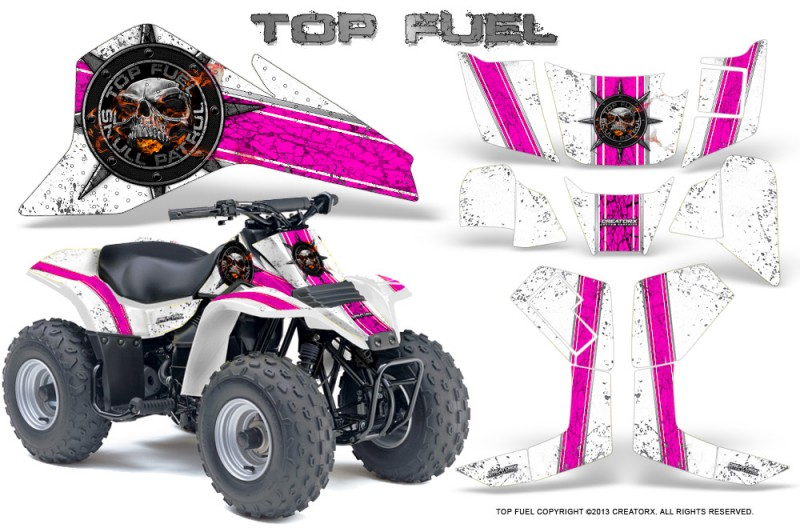 Suzuki-LT80-CreatorX-Graphics-Kit-Top-Fuel-Pink-White