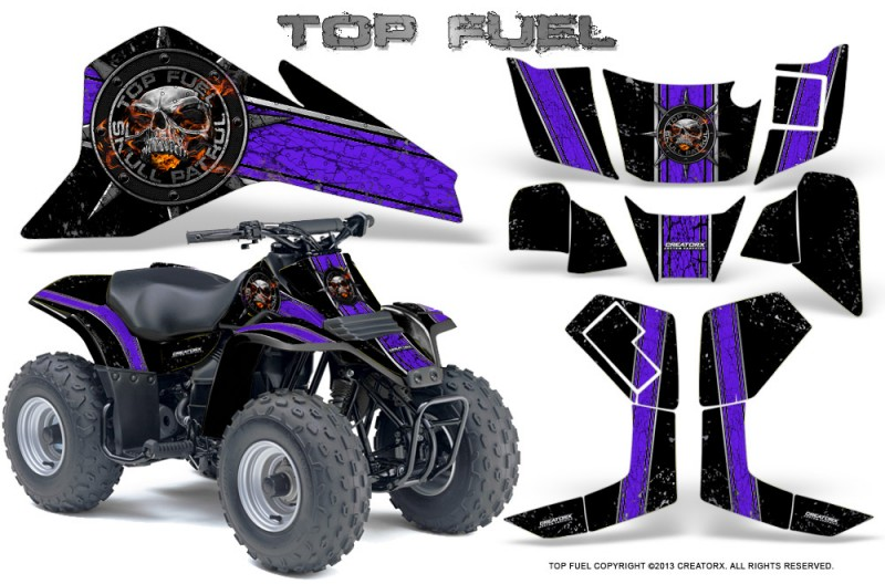 Suzuki-LT80-CreatorX-Graphics-Kit-Top-Fuel-Purple-Black