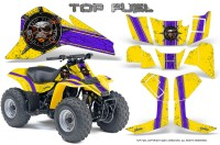 Suzuki-LT80-CreatorX-Graphics-Kit-Top-Fuel-Purple-Yellow