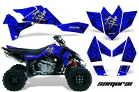 Suzuki-LTR-450-CreatorX-Graphics-Kit-Samurai-Black-Blue