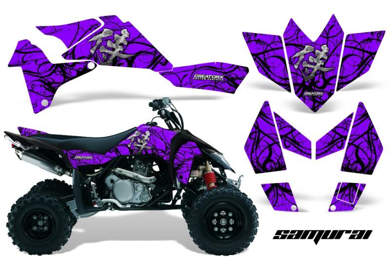 Suzuki-LTR-450-CreatorX-Graphics-Kit-Samurai-Black-Purple