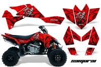 Suzuki-LTR-450-CreatorX-Graphics-Kit-Samurai-Black-Red