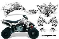 Suzuki-LTR-450-CreatorX-Graphics-Kit-Samurai-Black-White