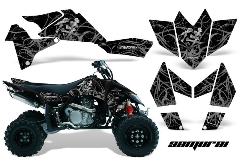 Suzuki-LTR-450-CreatorX-Graphics-Kit-Samurai-Silver-Black