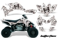 Suzuki-LTR450-AMR-Graphics-Kit-Butterfly-BW