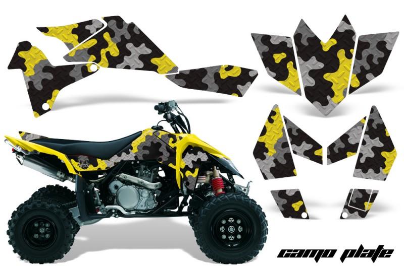 Suzuki-LTR450-AMR-Graphics-Kit-CamoPlate-Y