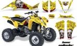 Suzuki LTZ 400 03 08 AMR Graphics Bones Yellow 150x90 - Suzuki LTZ 400 2003-2008 Graphics
