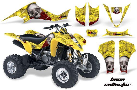 Suzuki LTZ 400 03 08 AMR Graphics Bones Yellow 570x376 - Suzuki LTZ 400 2003-2008 Graphics