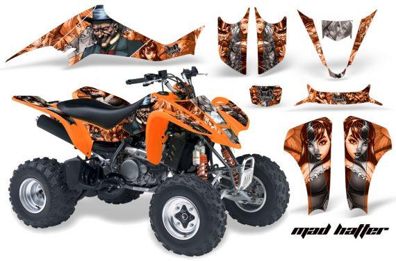 Suzuki LTZ 400 03 08 AMR Graphics MadHatter OrangeSilverstripe 570x376 - Suzuki LTZ 400 2003-2008 Graphics