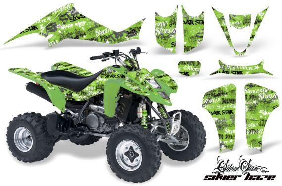 Suzuki LTZ 400 03 08 AMR Graphics Silverhaze BlackGreenBG 570x376 - Suzuki LTZ 400 2003-2008 Graphics