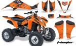 Suzuki LTZ 400 03 08 AMR Graphics TBomber Orange 150x90 - Suzuki LTZ 400 2003-2008 Graphics