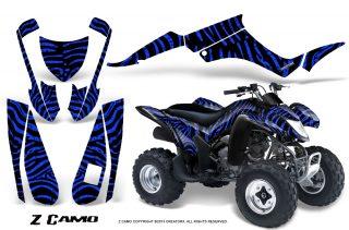 Suzuki LTZ250 CreatorX Graphics Kit ZCamo Black Blue 320x211 - Suzuki LTZ 250 Graphics