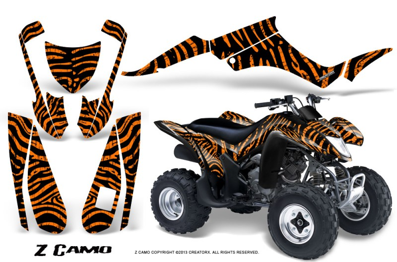 Suzuki-LTZ250-CreatorX-Graphics-Kit-ZCamo-Black-Orange