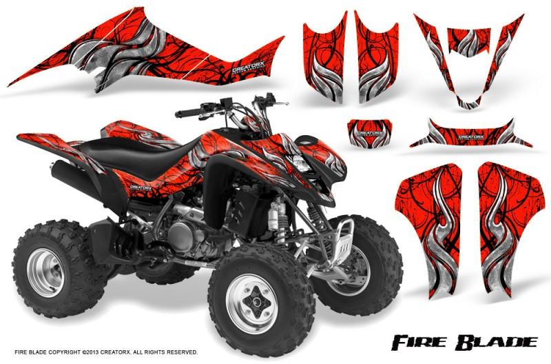 Suzuki-LTZ400-03-08-CreatorX-Graphics-Kit-Fire-Blade-Black-Red